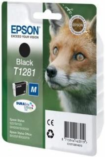 Картридж EPSON T12814010 черный оригинальный