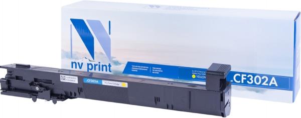 Картридж совместимый NVP CF302A желтый для HP