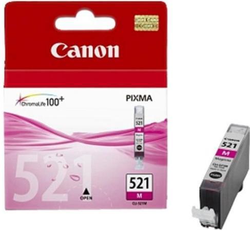 Картридж CANON CLI-521M пурпурный
