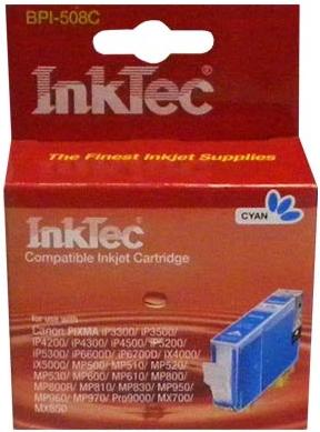 Картридж совместимый CLI-8C синий для Canon