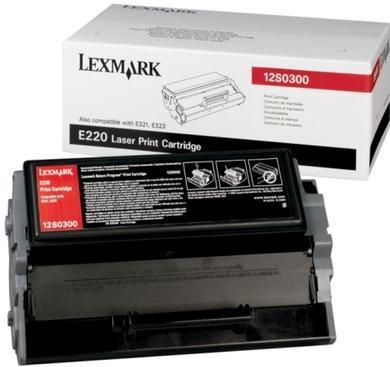 Картридж Lexmark 12S0300 черный оригинал