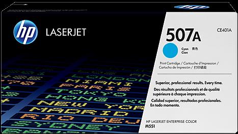 Картридж HP CE401A голубой совместимый UNITON Eco