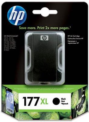 Картридж HP 177 XL (C8719HE) черный (оригинальный)