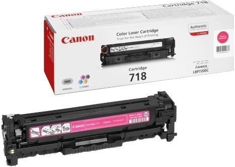 Картридж Canon CRG 718M пурпурный совместимый NV Print