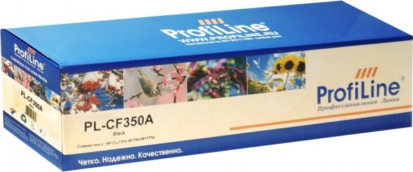Картридж совместимый CF350A Black ProfiLine M176n/M177fw для HP