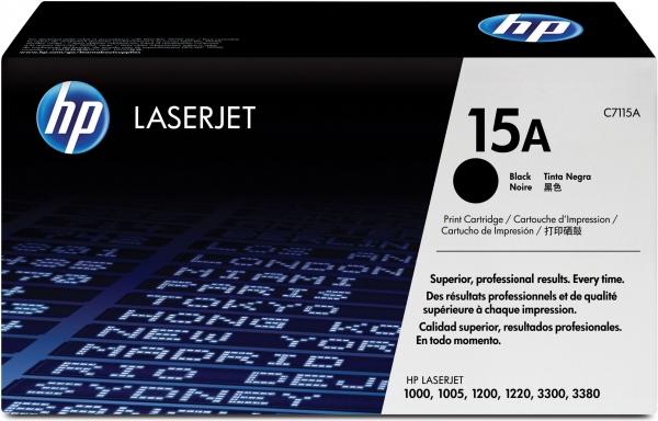 Тонер-картридж HP C7115A (оригинальный)