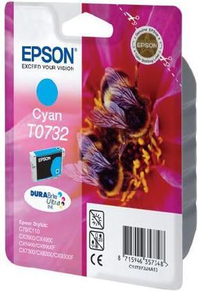 Картридж EPSON C13T10524A10 голубой оригинальный