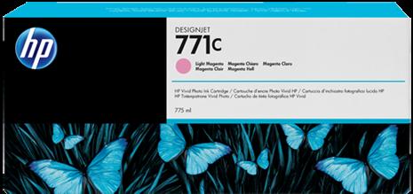 Картридж HP B6Y11A светло-пурпурный оригинальный