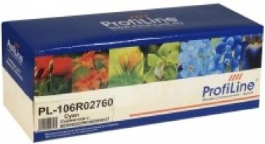 Картридж совместимый ProfiLine 106R02760 голубой для Xerox