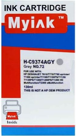 Картридж совместимый MyInk C9374A серый для HP