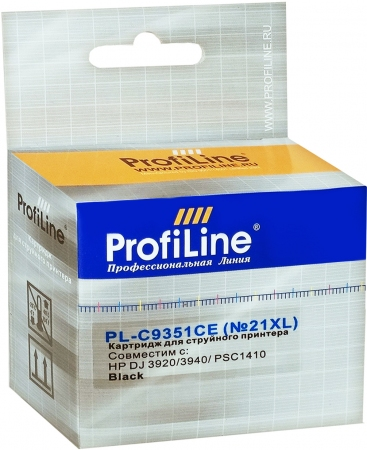 Картридж совместимый ProfiLine C9351CE №21XL для HP