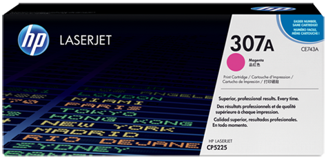 Картридж HP CE743A пурпурный оригинальный