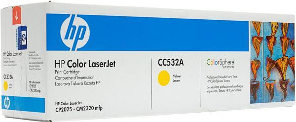 Картридж HP CC532A желтый совместимый UNITON Eco
