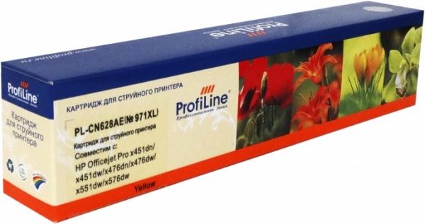 Картридж совместимый ProfiLine CN628AE №971XL для HP желтый