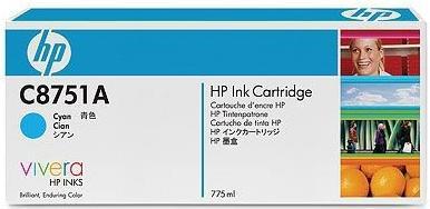 Картридж HP C8751A голубой оригинальный