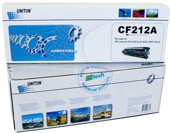 Картридж совместимый UNITON Premium CF212A желтый для HP