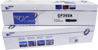 Картридж совместимый UNITON Premium CF352A (130A) желтый для HP
