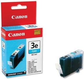 Картридж CANON BCI-3eC голубой оригинальный
