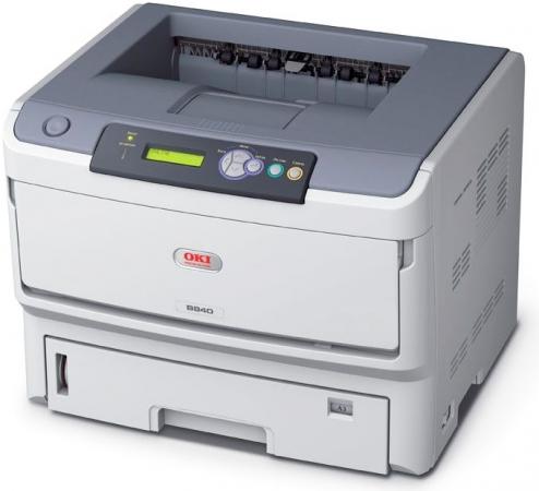 Принтер лазерный OKI B840DN
