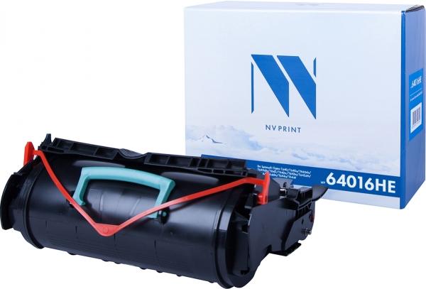 Картридж совместимый NVP 64016HE для Lexmark