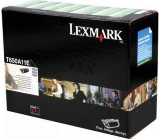 Картридж Lexmark T650A11E черный оригинал