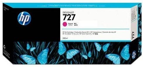 Картридж для HP F9J77A №727 пурпурный оригинальный