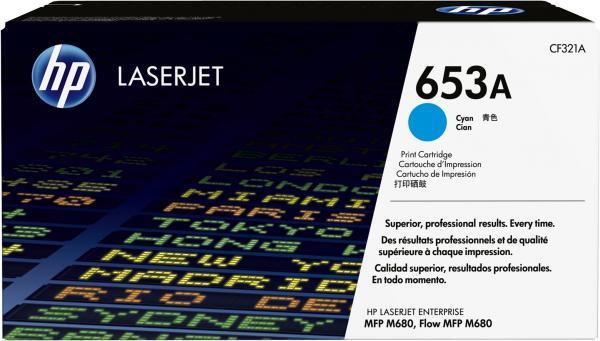Картридж HP CF321A голубой оригинальный
