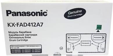 Картридж Panasonic KX-FAD412A оригинальный