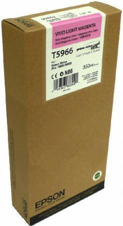 Картридж EPSON C13T596600 светло-пурпурный оригинальный