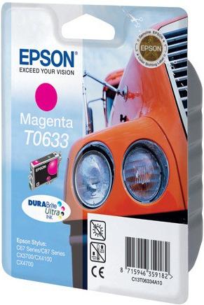 Картридж EPSON T06334A пурпурный оригинальный