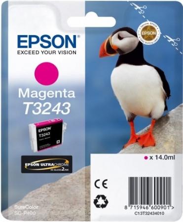 Картридж Epson T3243 (C13T32434010) пурпурный оригинальный