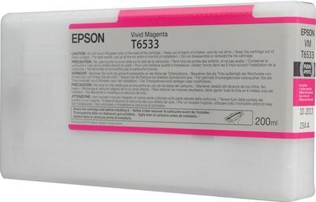 Картридж EPSON C13T653300 для Stylus Pro 4900 пурпурный оригинальный