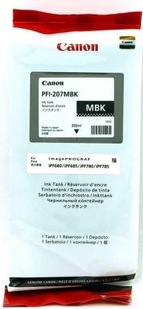 Картридж Canon PFI-207MBK матовый черный оригинальный