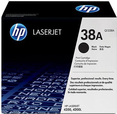 Картридж HP Q1338A черный оригинал