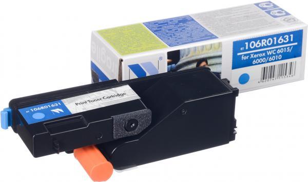 Картридж совместимый NV Print 106R01631 голубой для Xerox