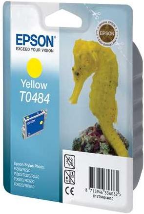 Картридж EPSON T0484 желтый оригинальный