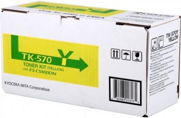 Картридж Kyocera TK-570Y желтый оригинальный