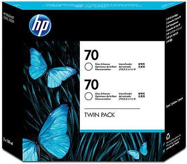 Картридж HP № 70 двойная упаковка глянцевый оригинальный
