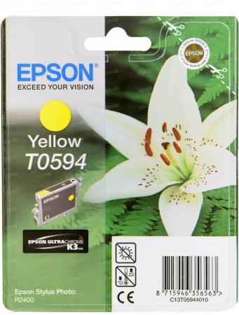 Картридж Epson T0594 (C13T05944010) желтый оригинальный