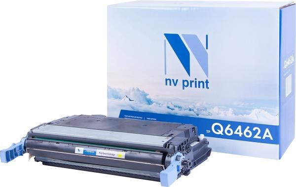 Картридж совместимый NVPrint Q6462A для HP желтый