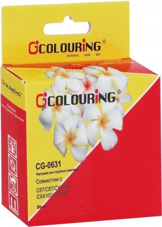 Картридж совместимый Colouring 0631 для Epson черный