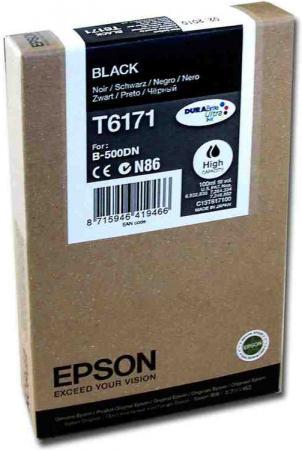 Картридж EPSON C13T617100 черный оригинальный