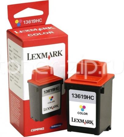 Картридж LEXMARK 13619HC трехцветный оригинальный