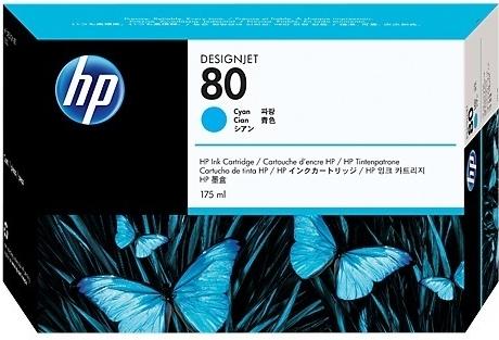 Картридж для HP C4872A синий оригинальный