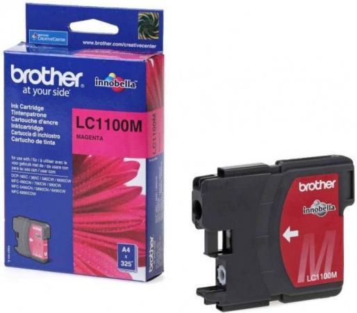 Картридж BROTHER LC-1100M пурпурный оригинальный