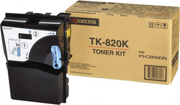 Картридж Kyocera TK-820K черный оригинальный