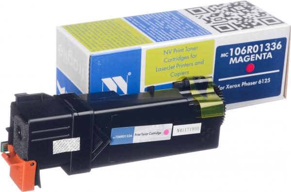 Картридж Xerox 106R01336 пурпурный совместимый NV Print