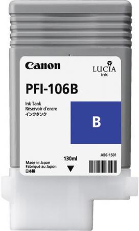 Картридж CANON PFI-106 голубой фото оригинальный