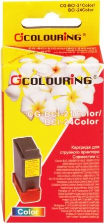 Картридж совместимый Colouring BCI-21 & BCI-24 для Canon 3 Color