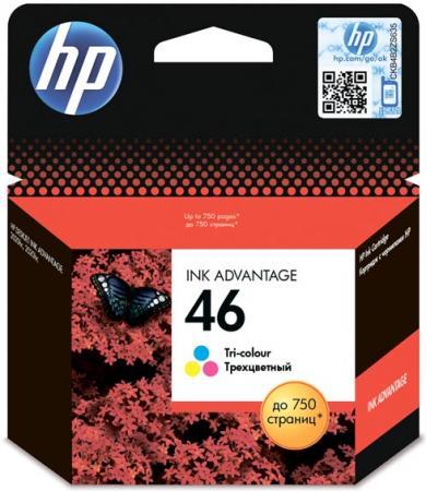 Картридж HP CZ638AE трехцветный оригинальный